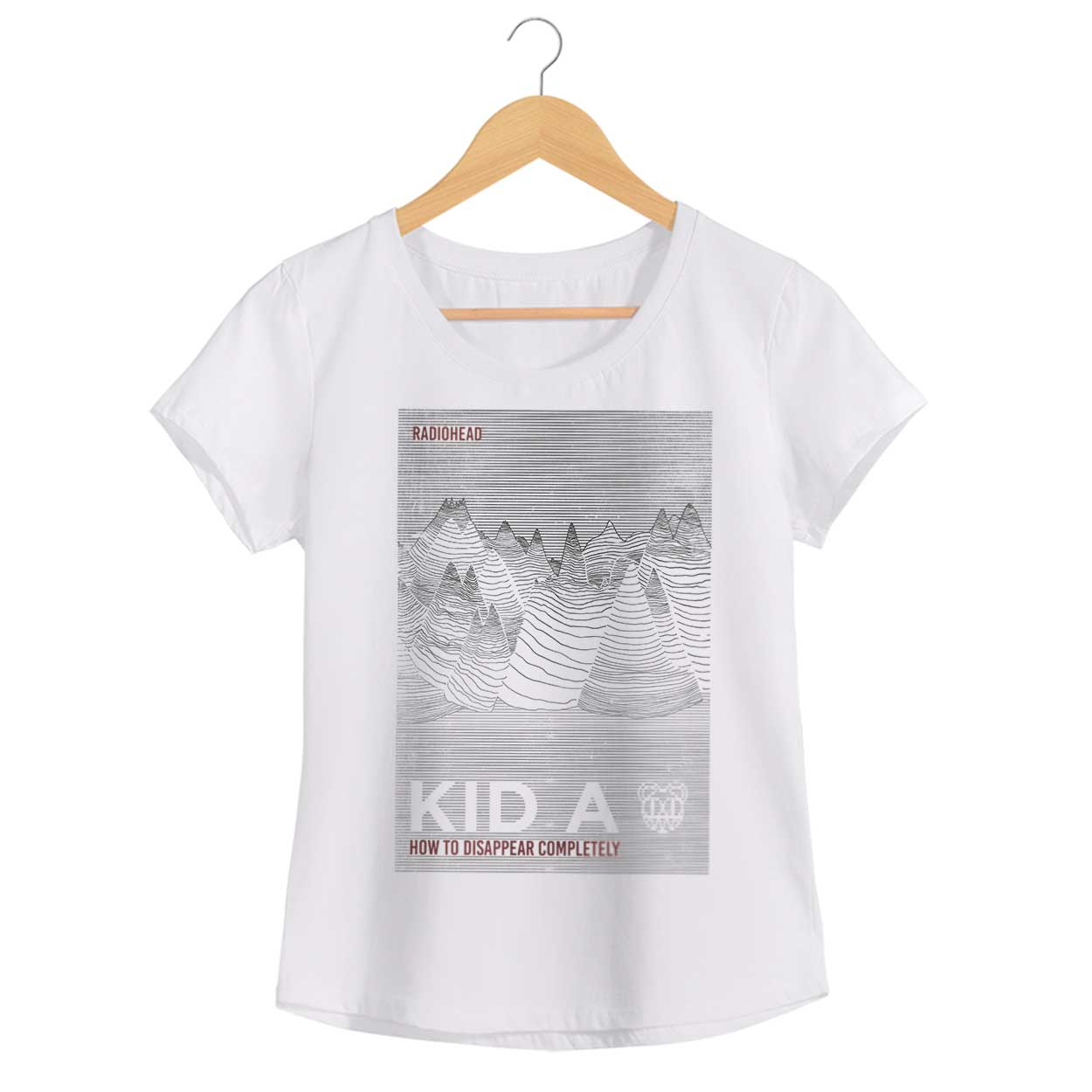 Camiseta - How To Disappear Completely - Radiohead - Feminino
