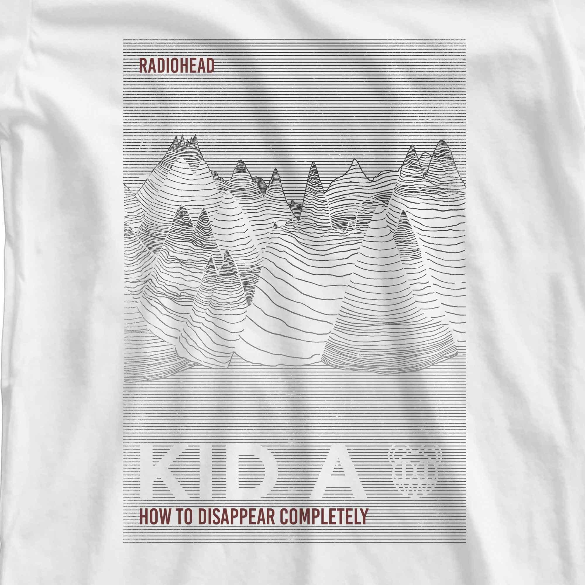 Camiseta How To Disappear Completely - Radiohead - Feminino