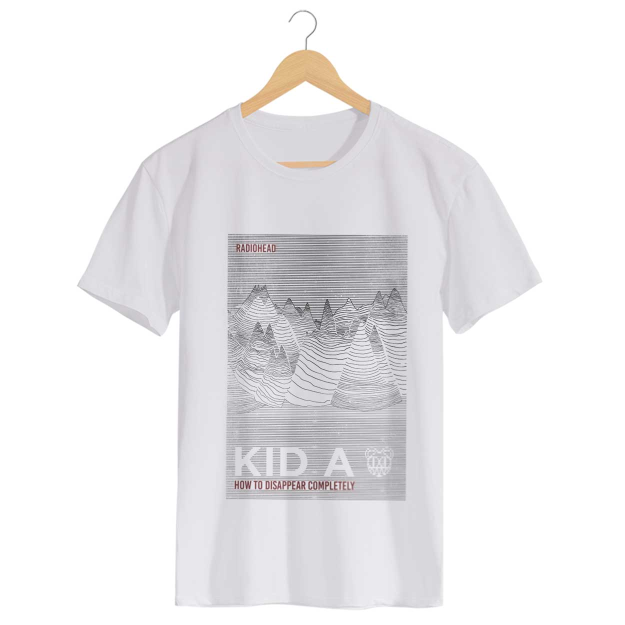 Camiseta How To Disappear Completely - Radiohead - Masculino