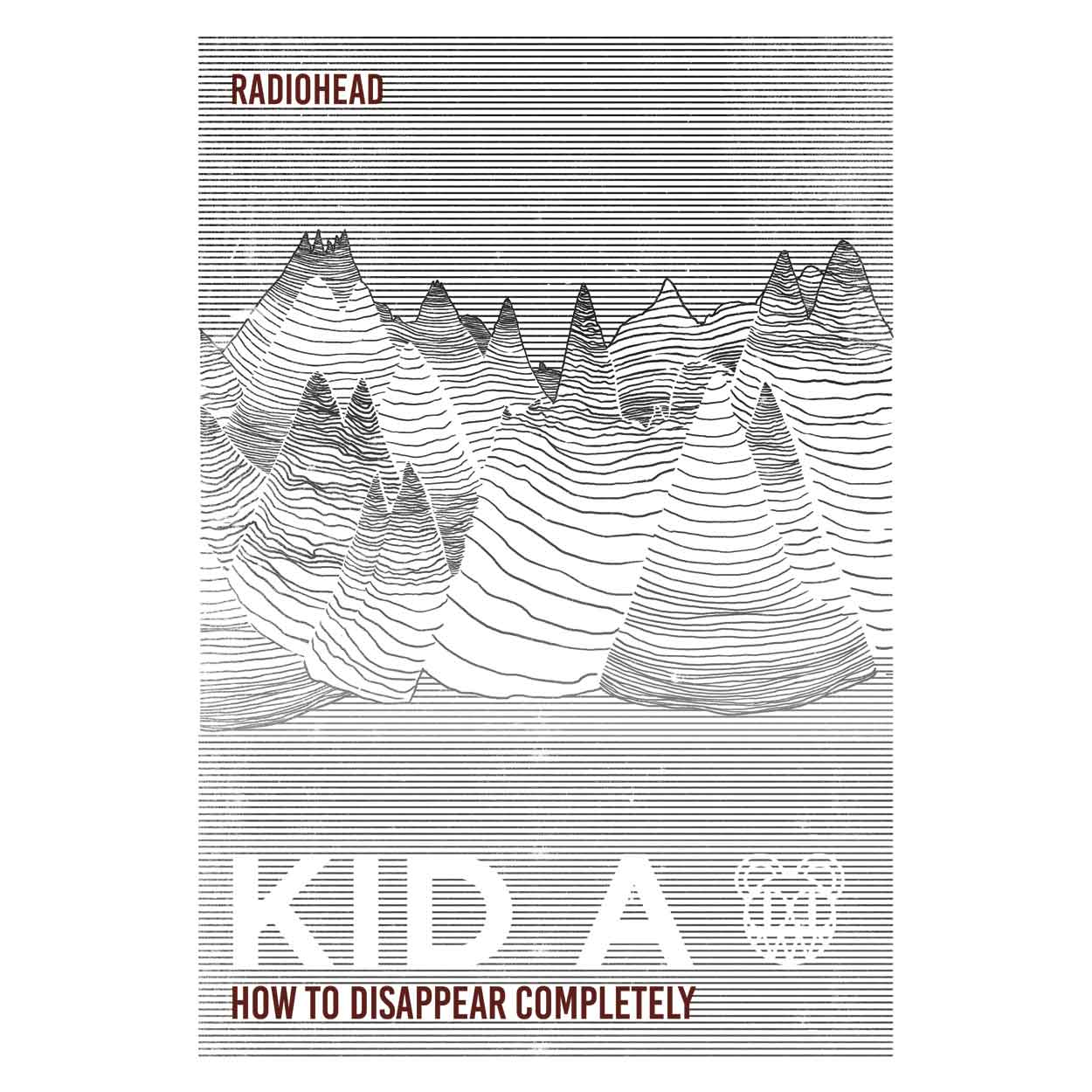 Camiseta - How To Disappear Completely - Radiohead - Masculino