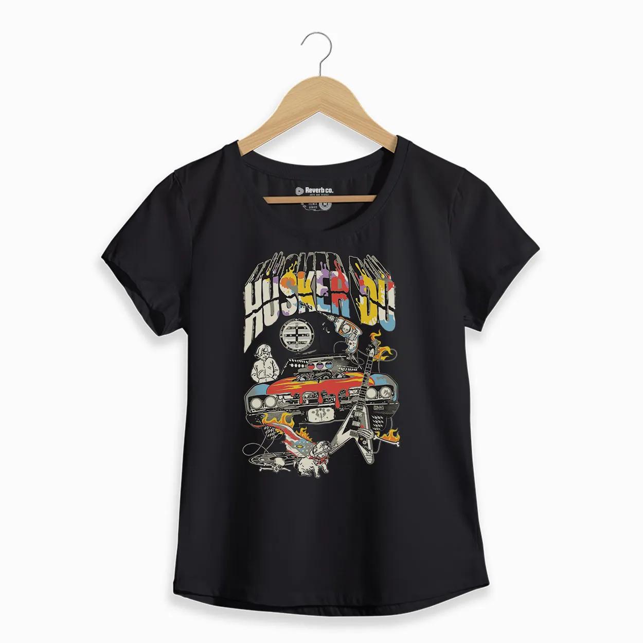 Camiseta - Husker Du - Feminino