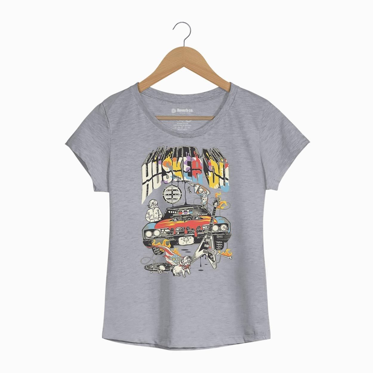 Camiseta Husker Du - Feminino
