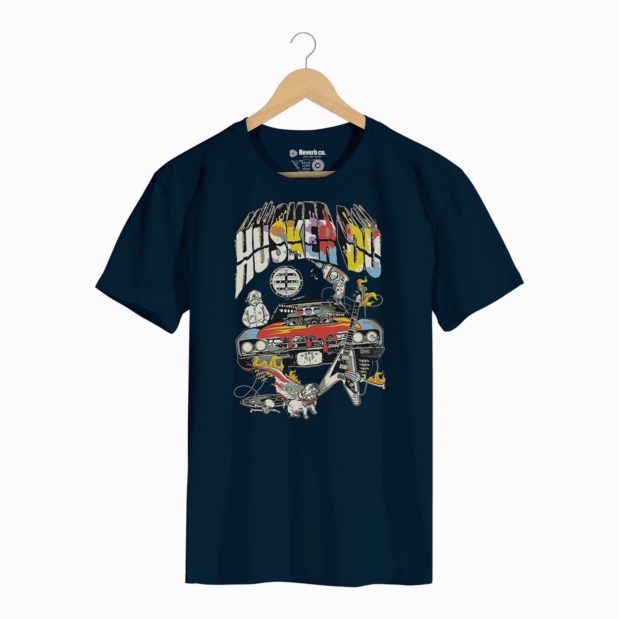 Camiseta Husker Du - Masculino