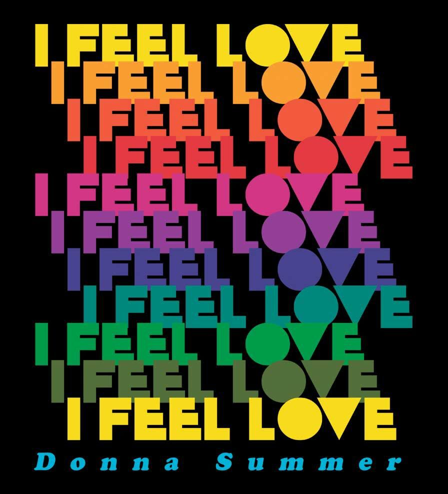 Camiseta I Feel Love - Donna Summer - Feminino