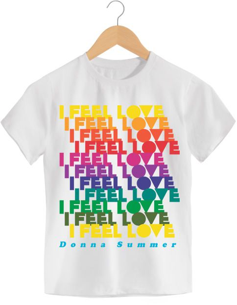 Camiseta I Feel Love - Donna Summer - Infantil