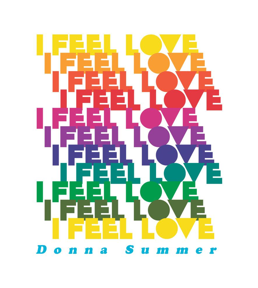 Camiseta I Feel Love - Donna Summer - Infantil