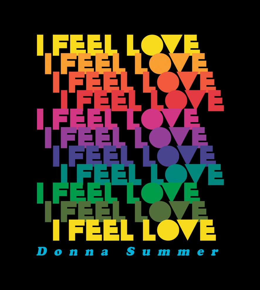 Camiseta - I Feel Love - Donna Summer - Infantil