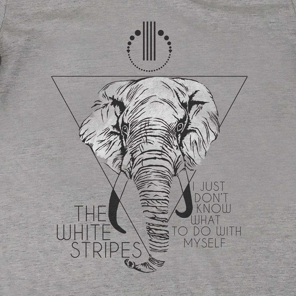 Camiseta I Just Dont - The White Stripes - Feminino