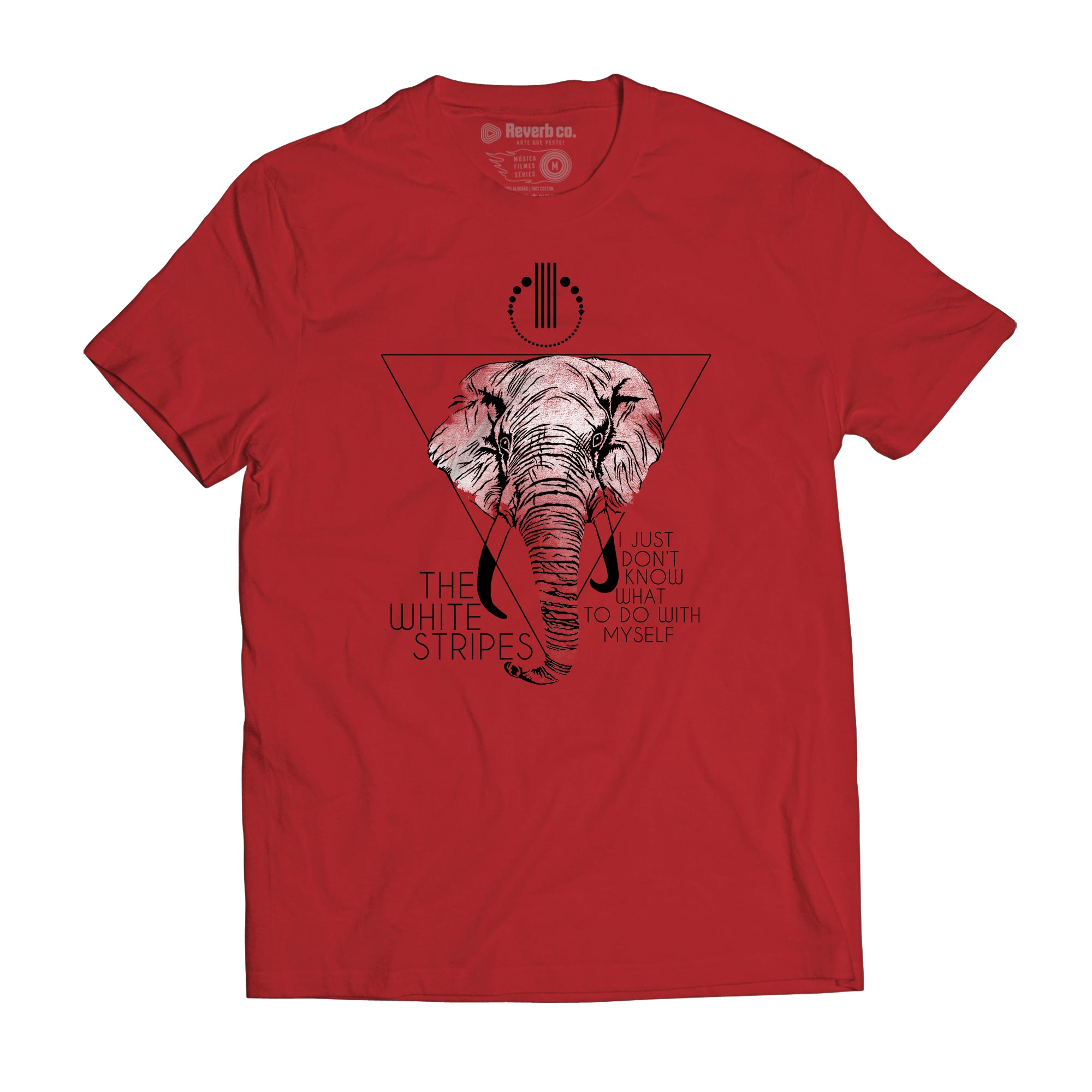 Camiseta I Just Dont - The White Stripes - Masculino