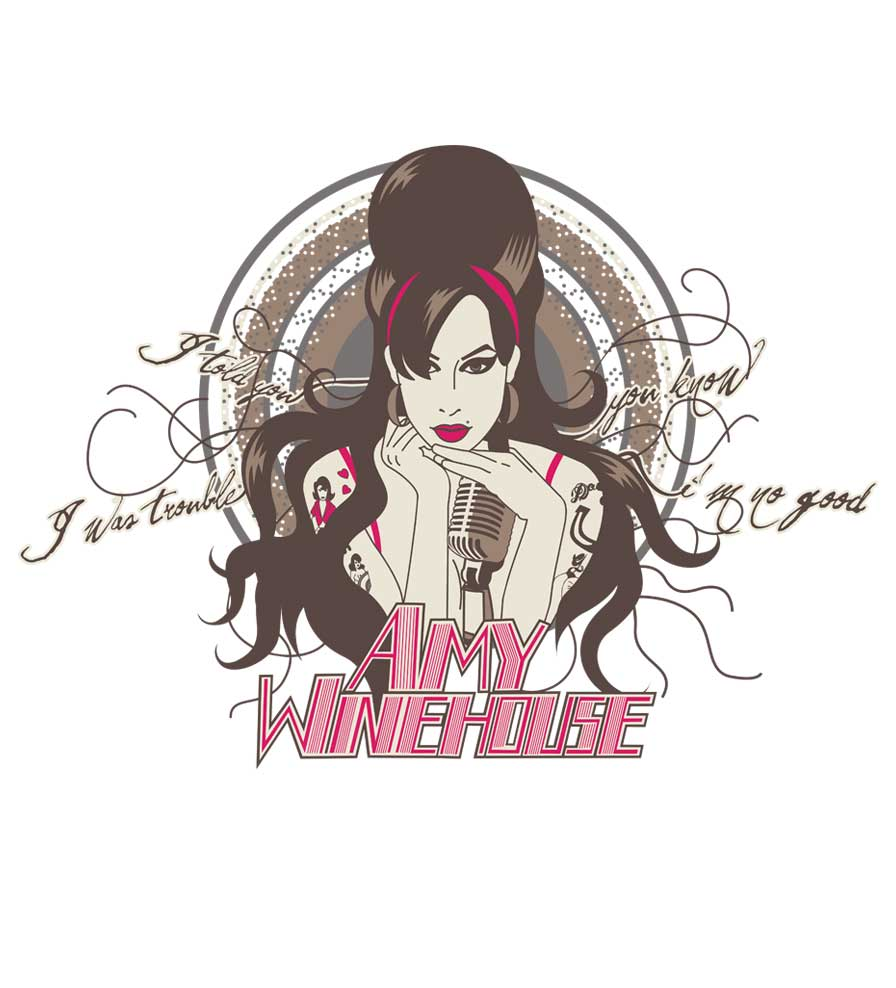 Camiseta - I Told You I Was Trouble - Amy Winehouse - Feminino
