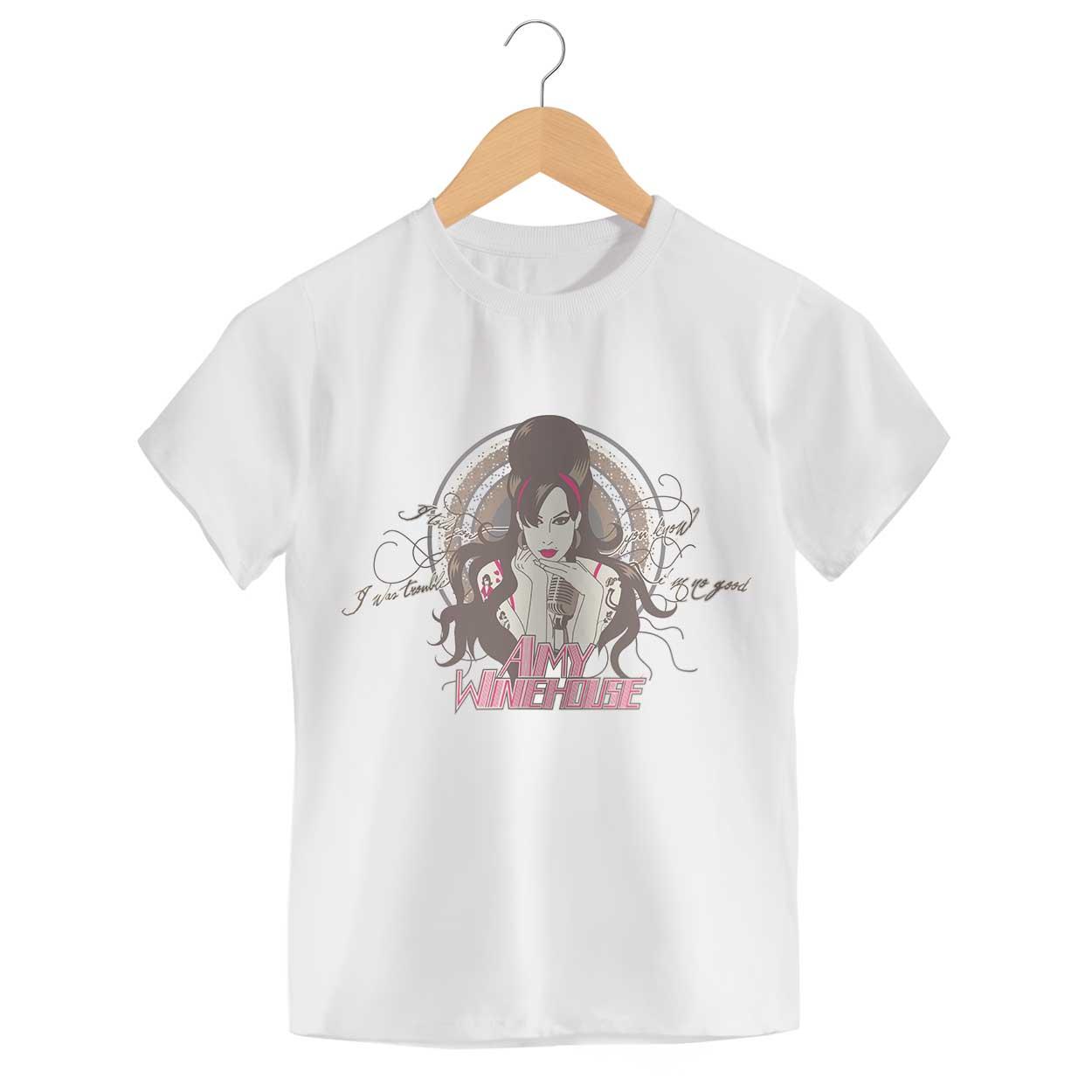 Camiseta - I Told You I Was Trouble - Amy Winehouse - Infantil