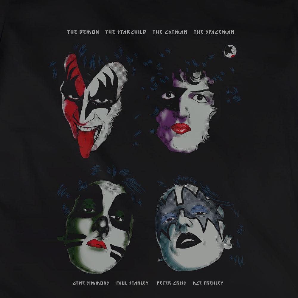 Camiseta I Was Made For Loving You - Kiss - Feminino