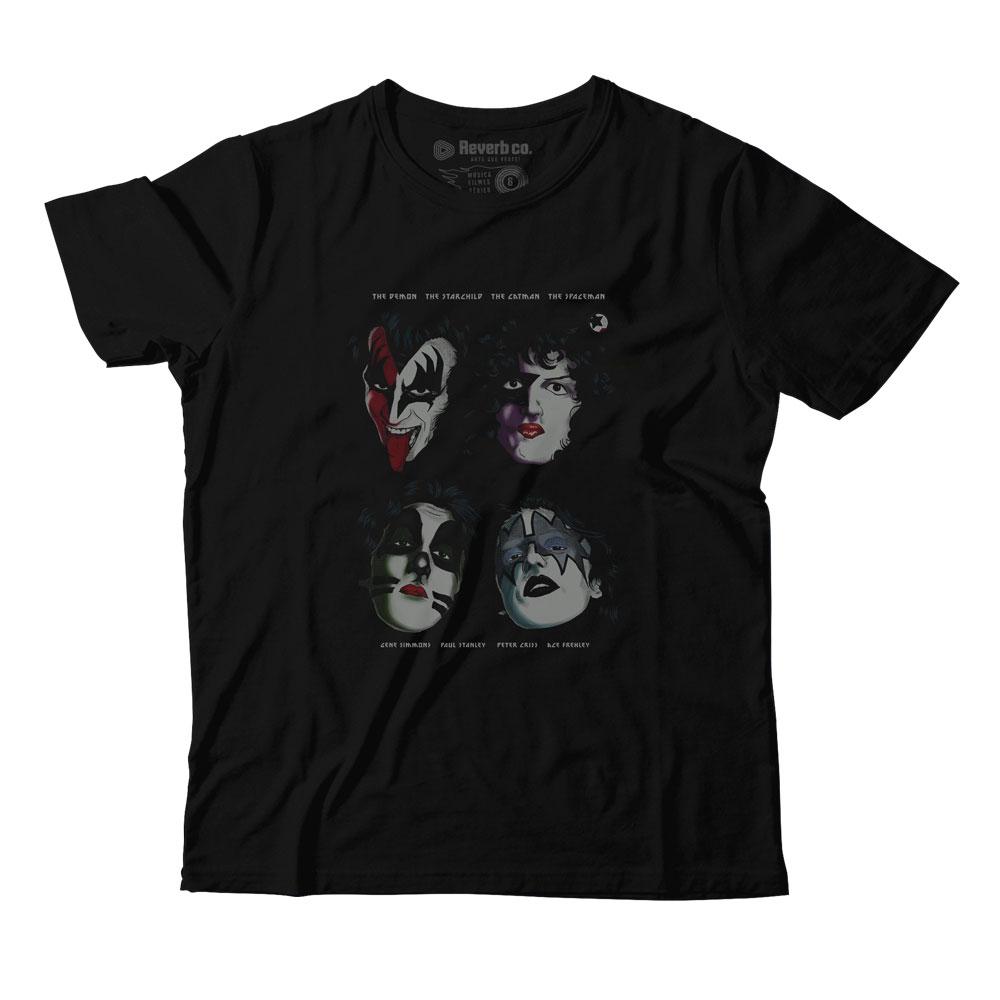Camiseta I Was Made For Loving You - Kiss - Infantil