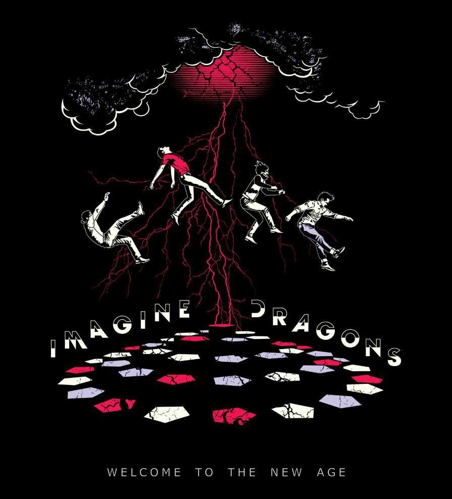 Camiseta Welcome To The New Age -  Imagine Dragons - Feminino