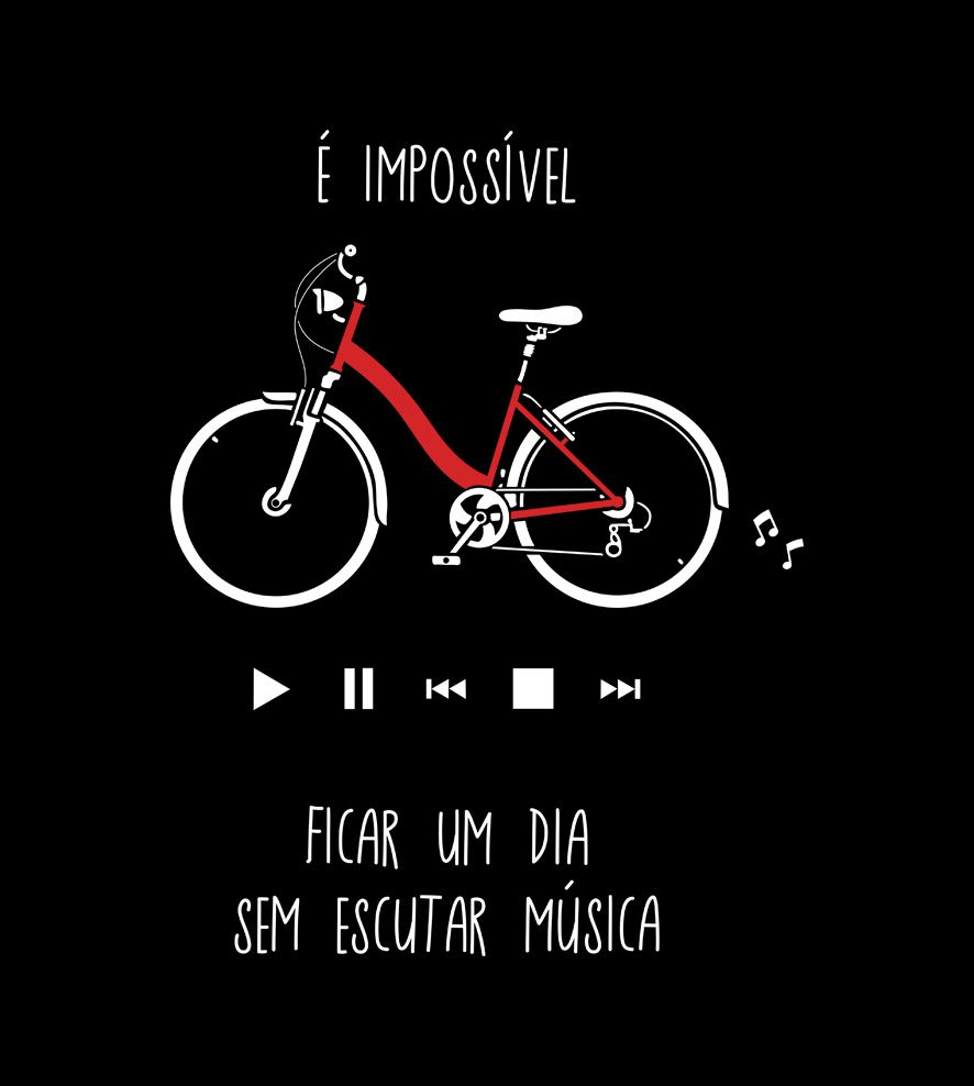 Camiseta - Impossível Viver Sem Música - Infantil