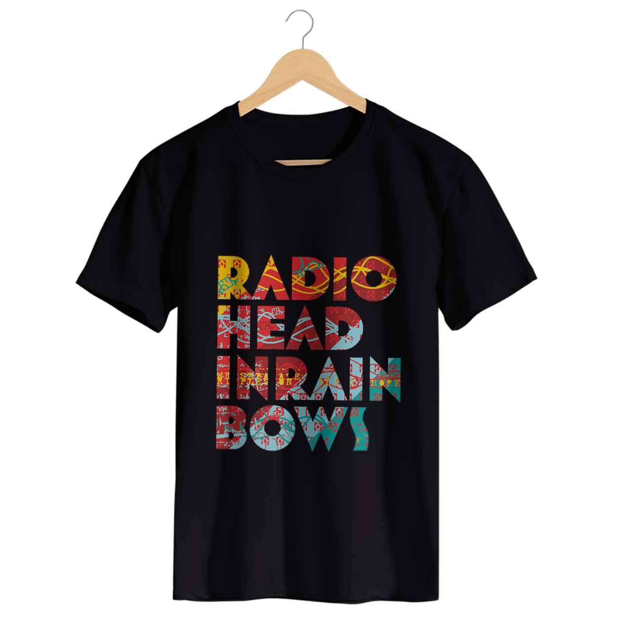 Camiseta In Rainbows - Radiohead - Masculino