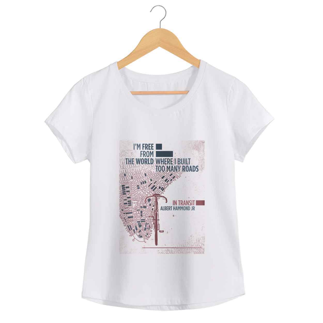Camiseta - In Transit - Albert Hammond Jr. Feminino