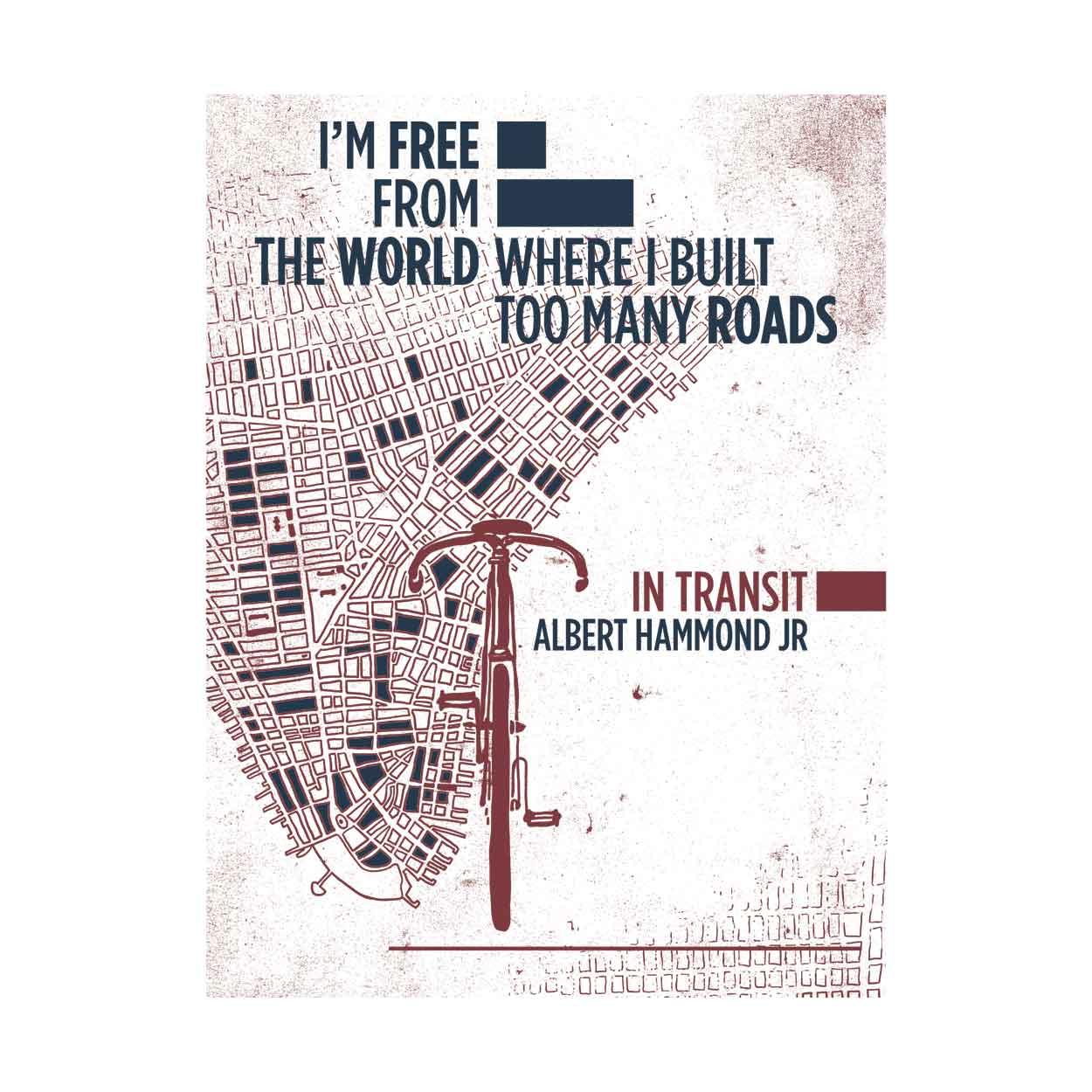 Camiseta - In Transit - Albert Hammond Jr. Feminino