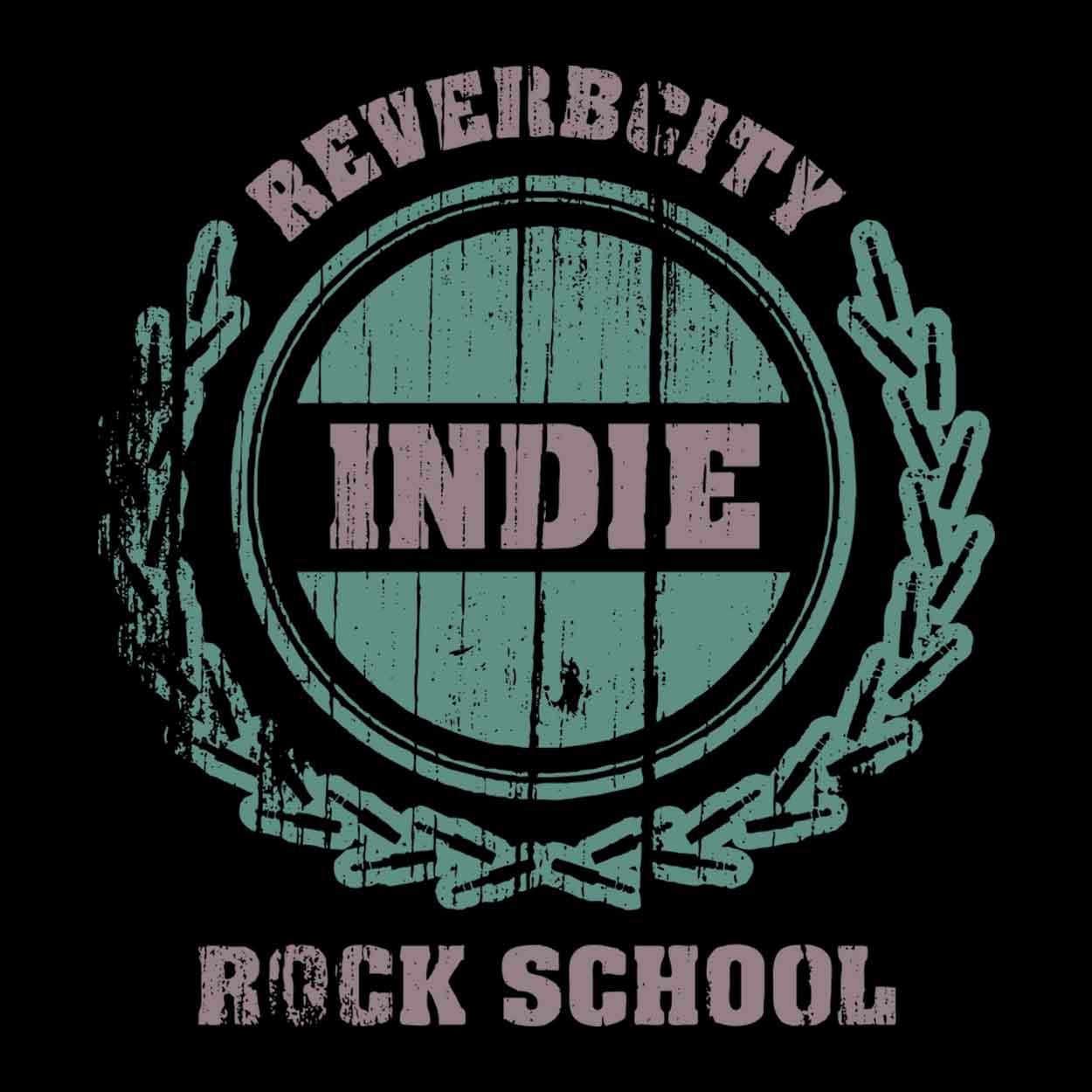 Camiseta - Indie Rock School - Reverbcity - Masculino