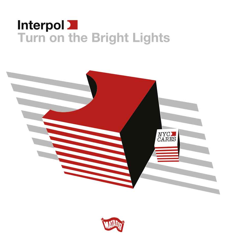 Camiseta - Turn On The Bright Lights 1 - Interpol - Masculino