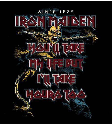 Camiseta  - The Trooper -  Iron Maiden - Feminino