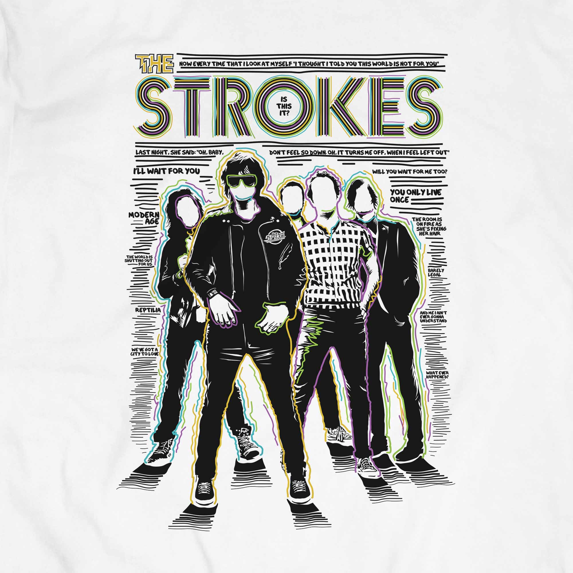 Camiseta Is This It 2 - The Strokes - Masculino