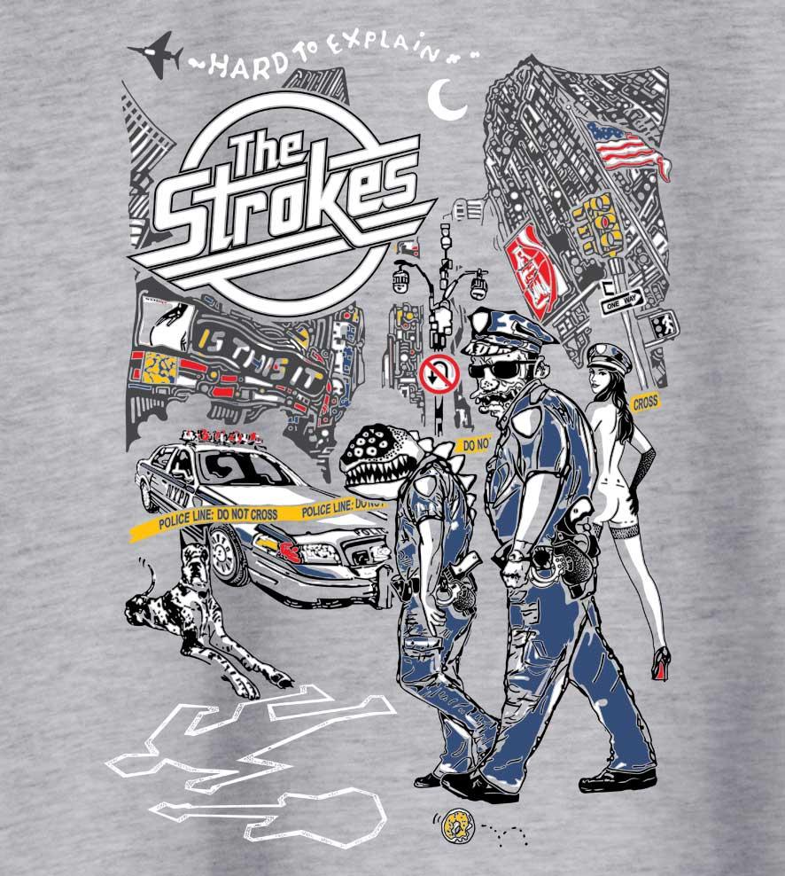 Camiseta - Is This It - The Strokes - Feminino