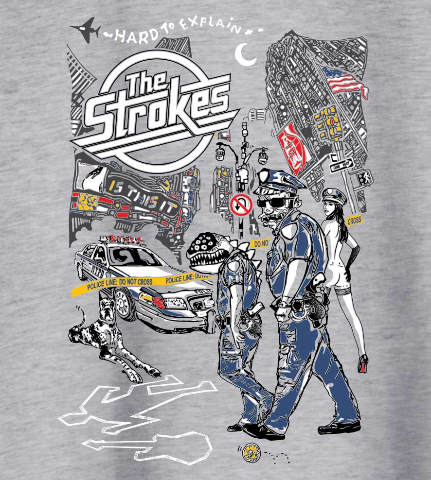 Camiseta Is This It - The Strokes - Masculino