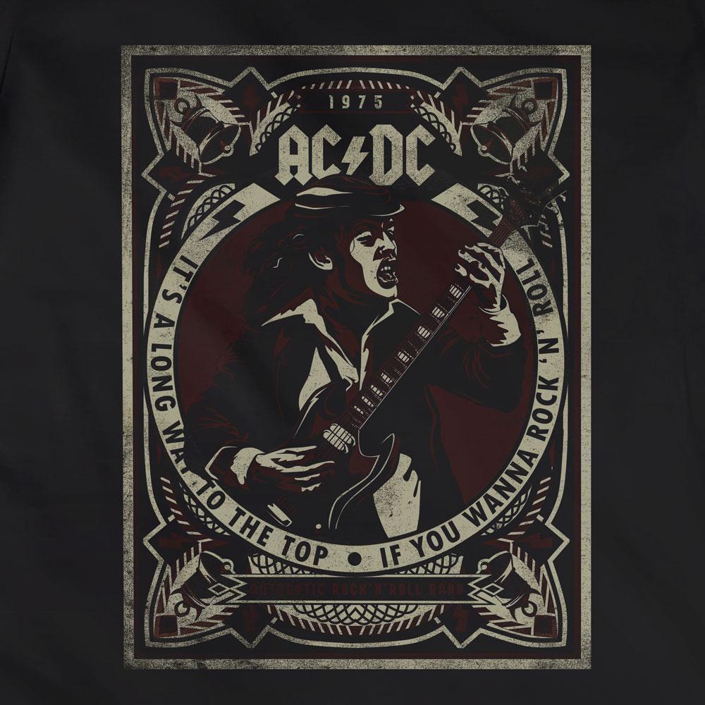 Camiseta It's a Long Way to the Top - AC/DC - Feminino