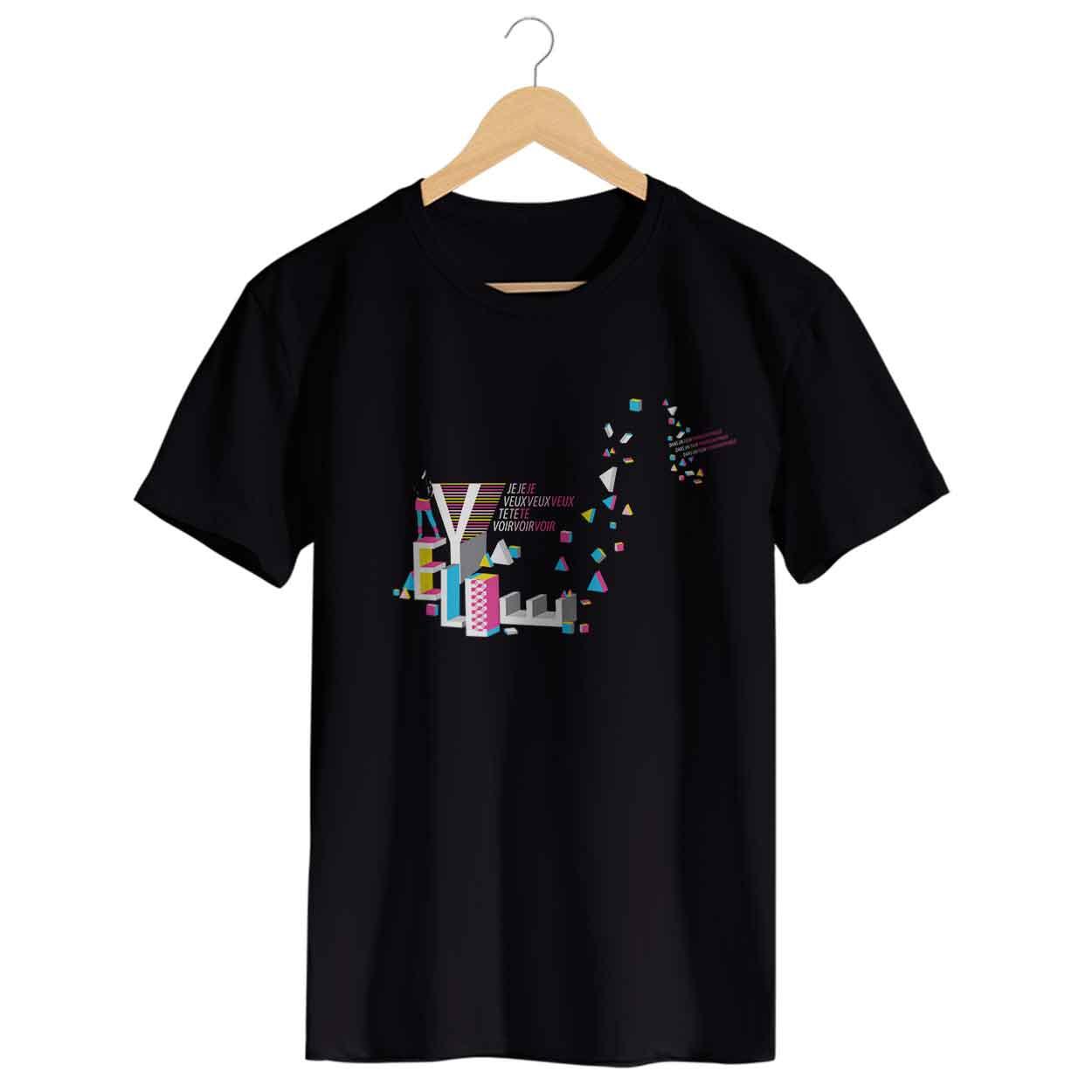 Camiseta Je Veux Te Voir - Yelle - Masculino