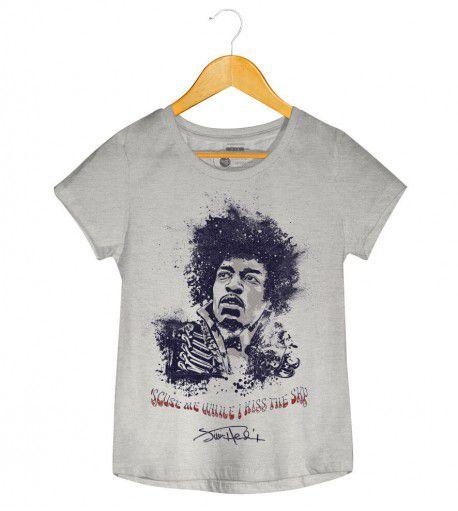 Camiseta - Purple Haze - Jimi Hendrix  - Feminino