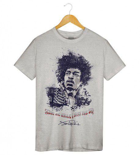 Camiseta - Purple Haze - Jimi Hendrix - Masculino