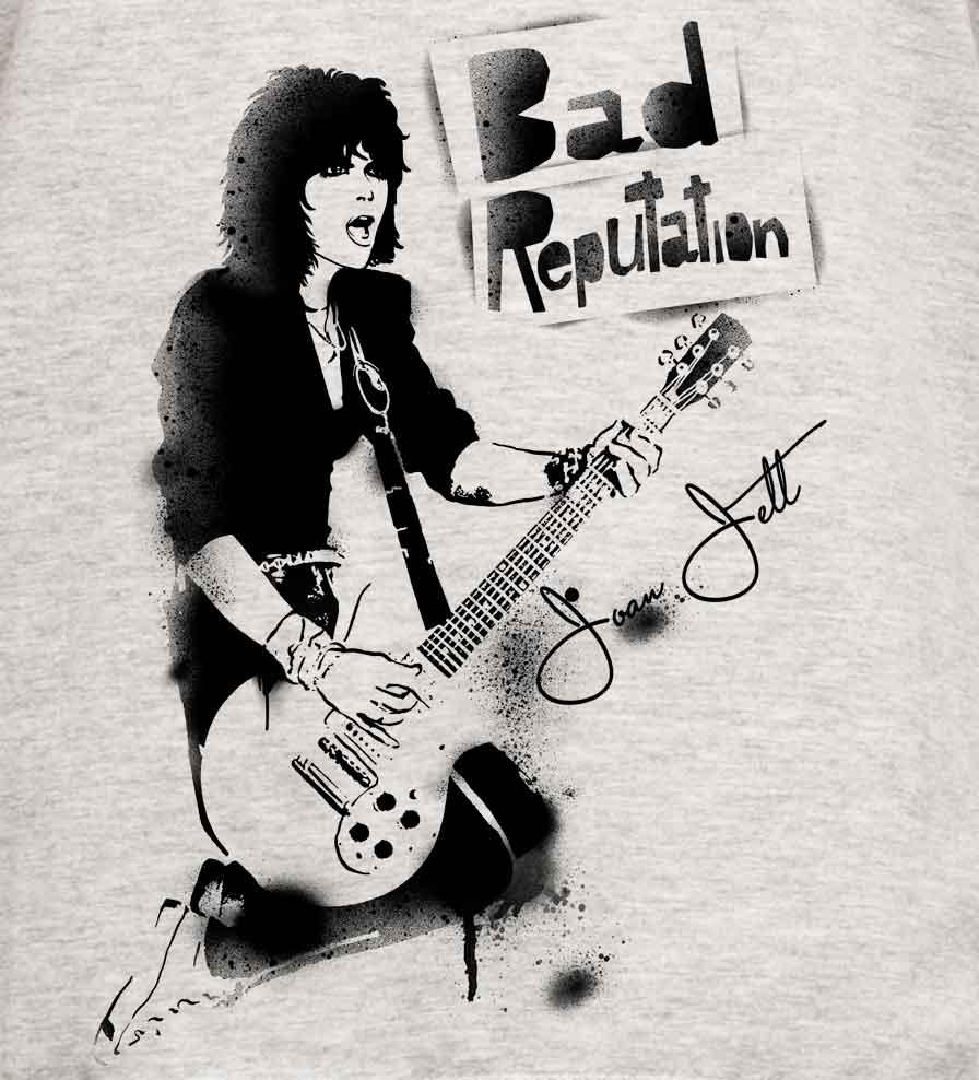 Camiseta - Bad Reputation - Joan Jett - Masculino