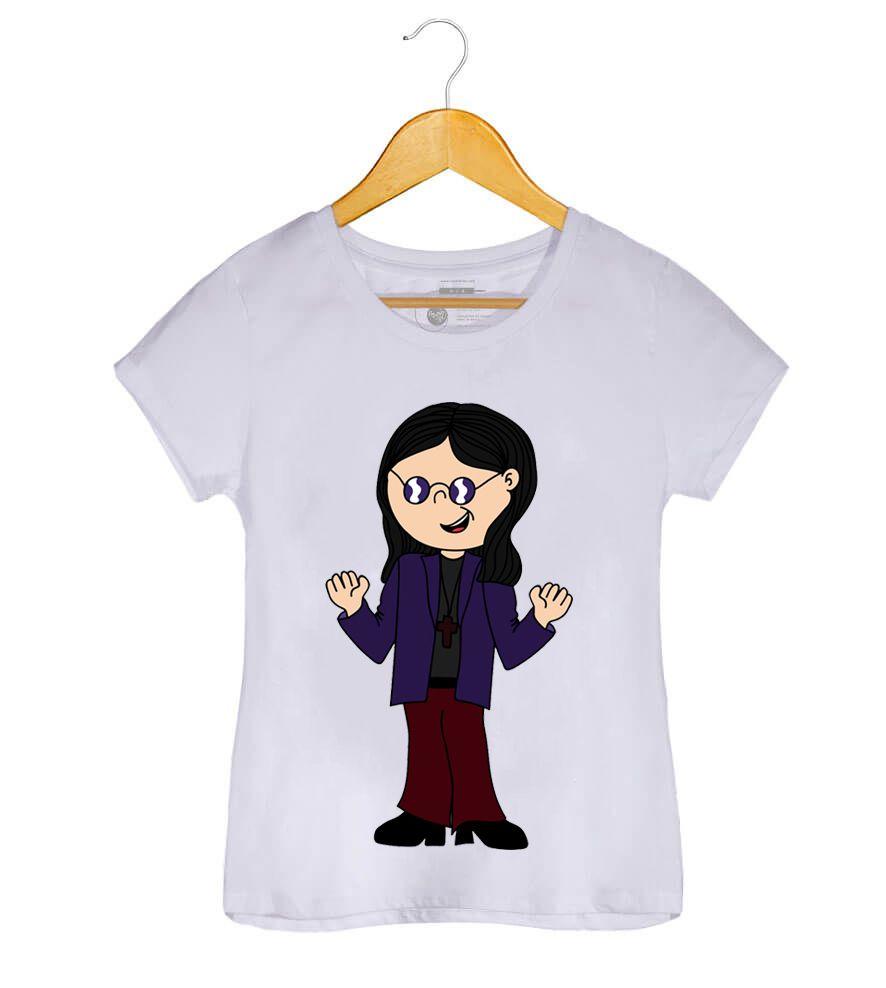 Camiseta - John Michael Osbourne - Ozzy Osbourne - Feminino
