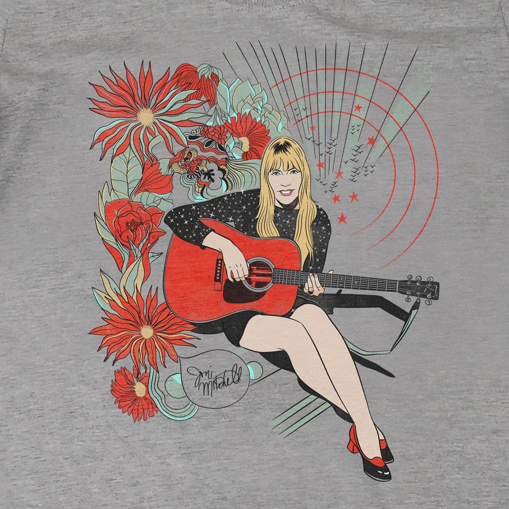 Camiseta Joni Mitchell - Feminino
