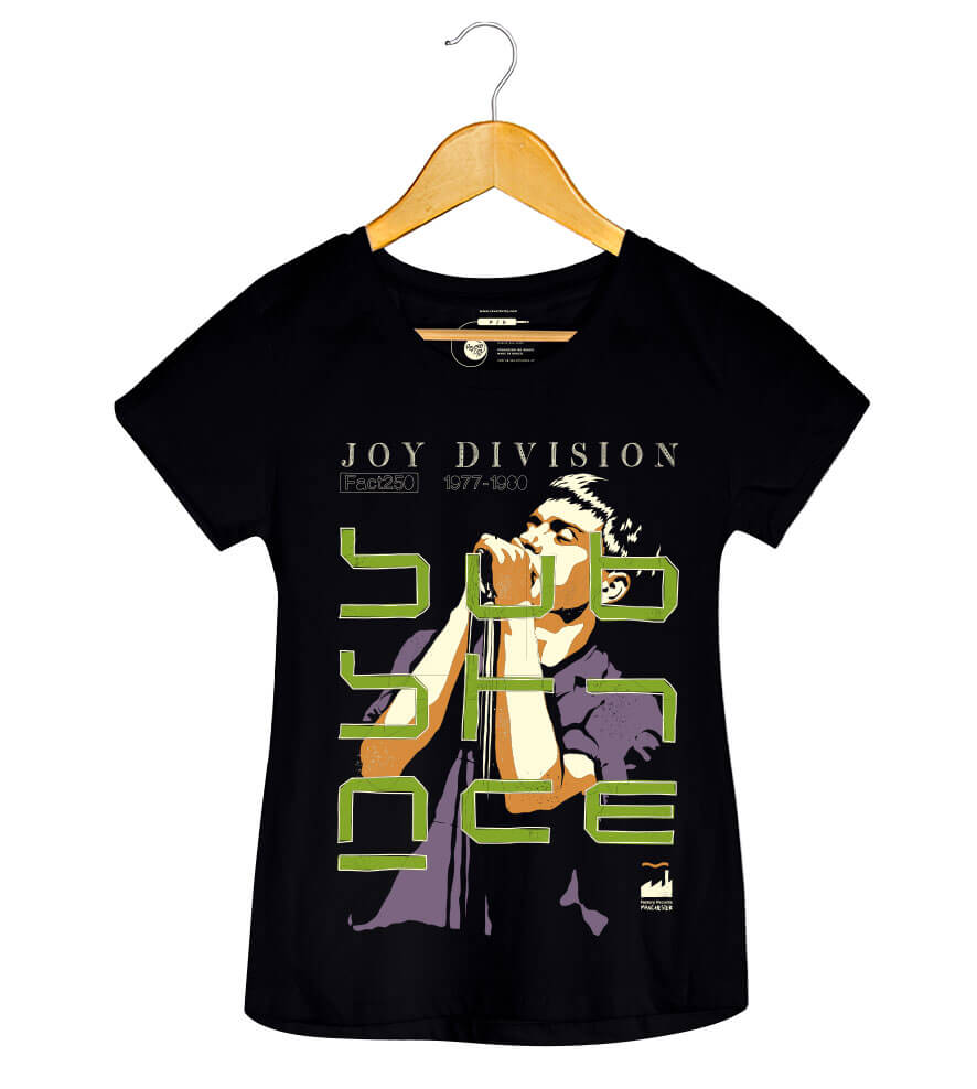 Camiseta Substance - Joy Division - Feminino