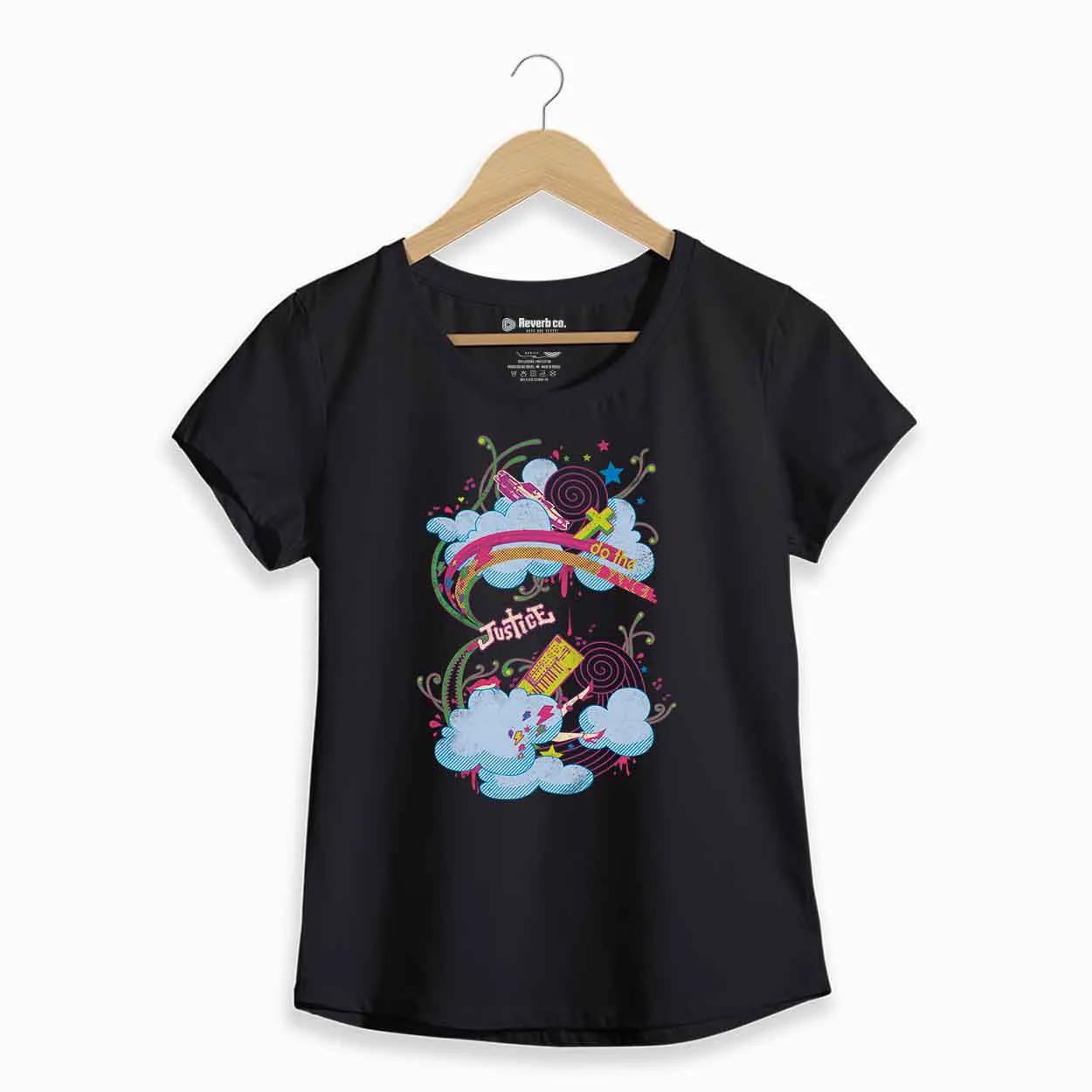 Camiseta  - Justice - Feminino