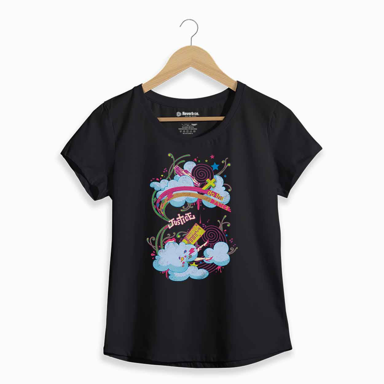 Camiseta Justice - Feminino