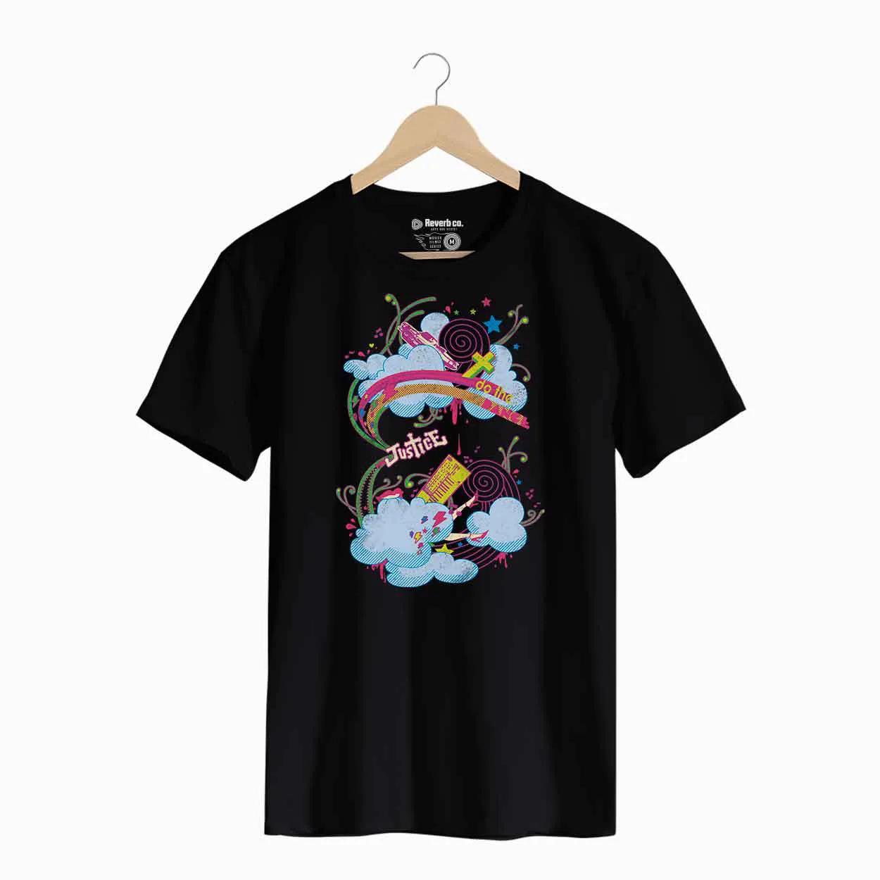 Camiseta -  Justice - Masculino