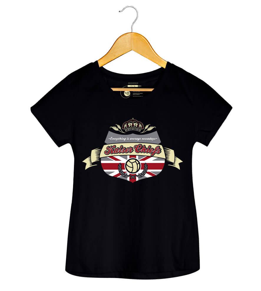 Camiseta - Everything is Average Nowadays -  Kaiser Chiefs - Feminino