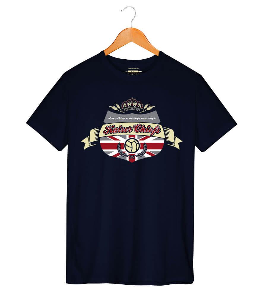 Camiseta - Everything is Average Nowadays - Kaiser Chiefs - Masculino