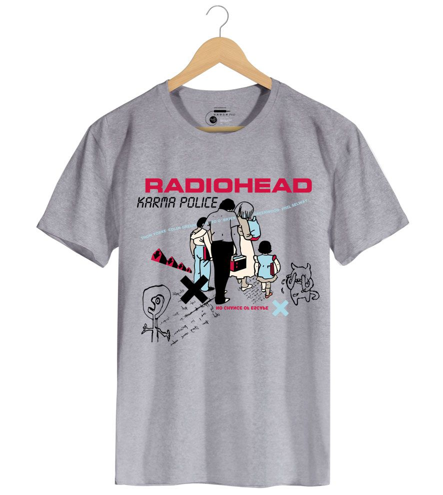 Camiseta Karma Police - Radiohead - Masculino