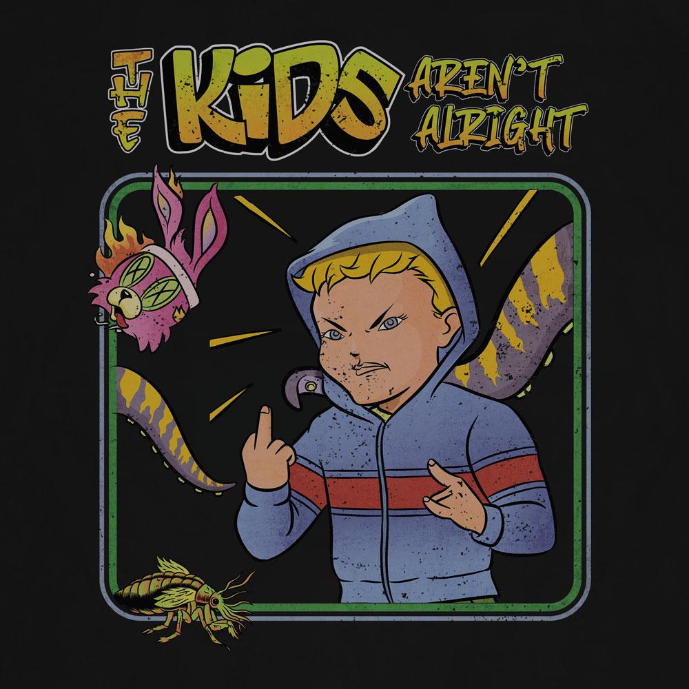 Camiseta Kids Arent Alright - Masculino
