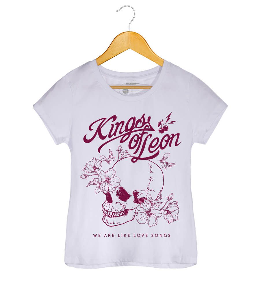 Camiseta Kings of Leon - We Are Like Love Songs - Feminino