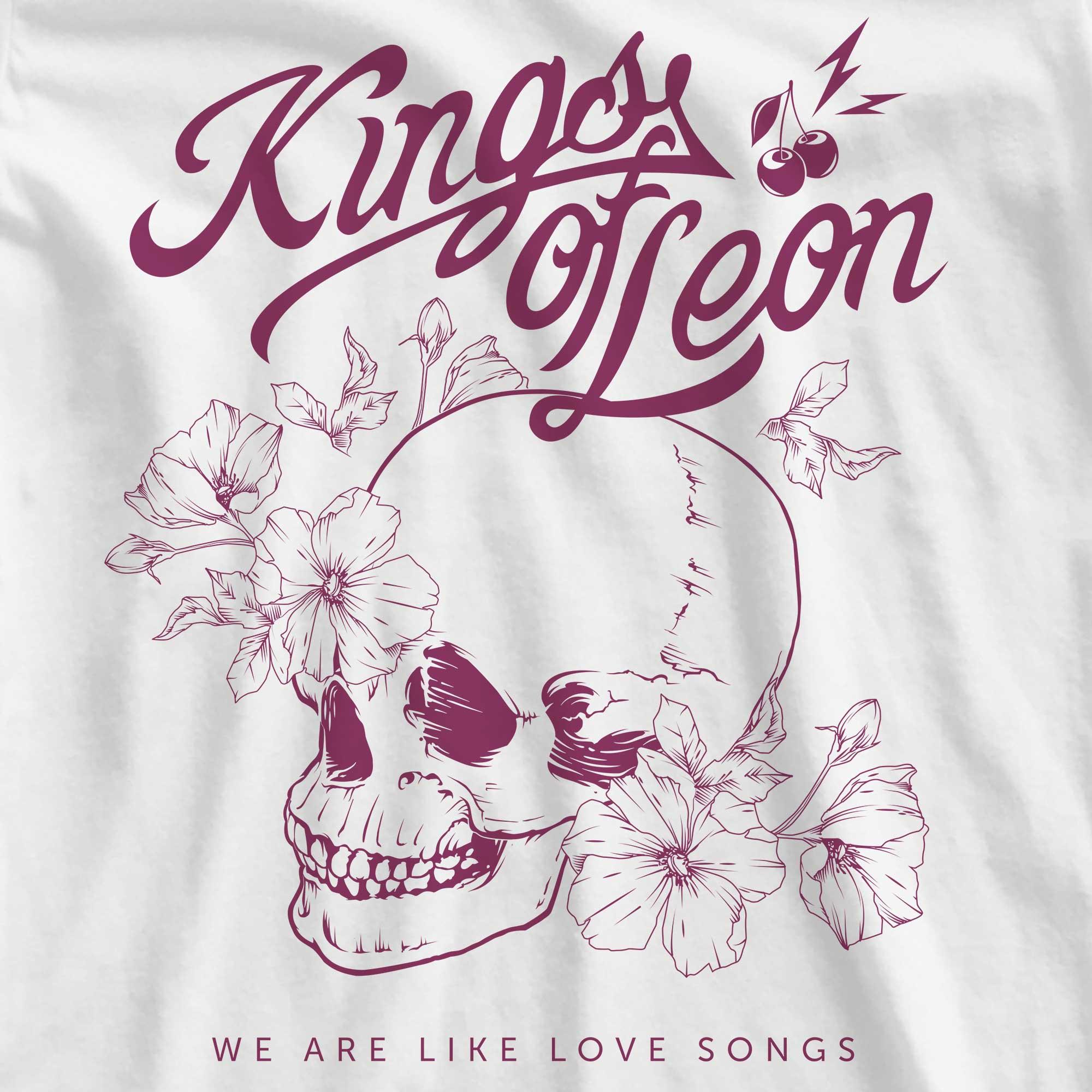 Camiseta Kings of Leon - We Are Like Love Songs - Feminino