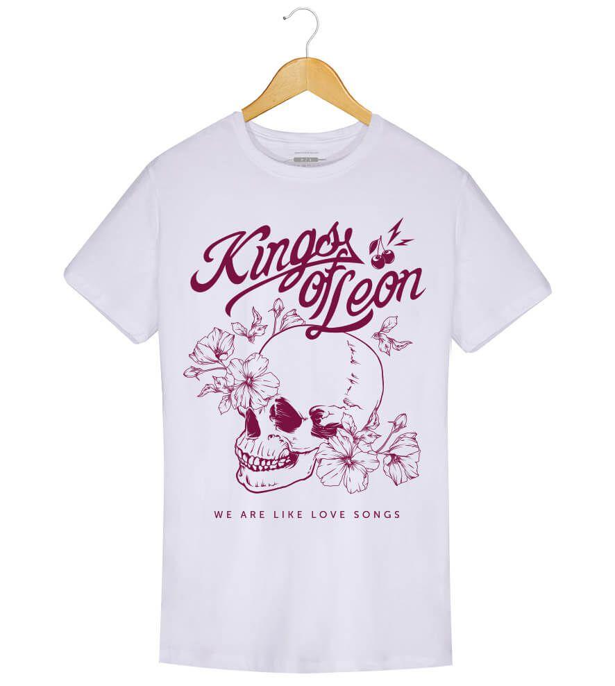 Camiseta - We Are Like Love Songs - Kings of Leon - Masculino