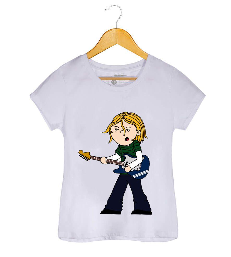 Camiseta - Kurt Donald Cobain - Nirvana - Feminino