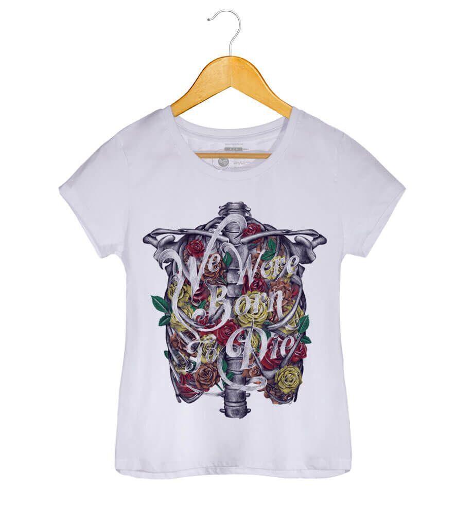 Camiseta Born To Die - Lana Del Rey - Feminino