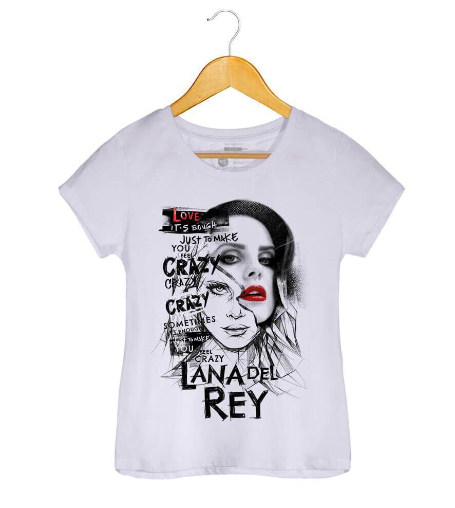 Camiseta Love - Lana Del Rey - Feminino