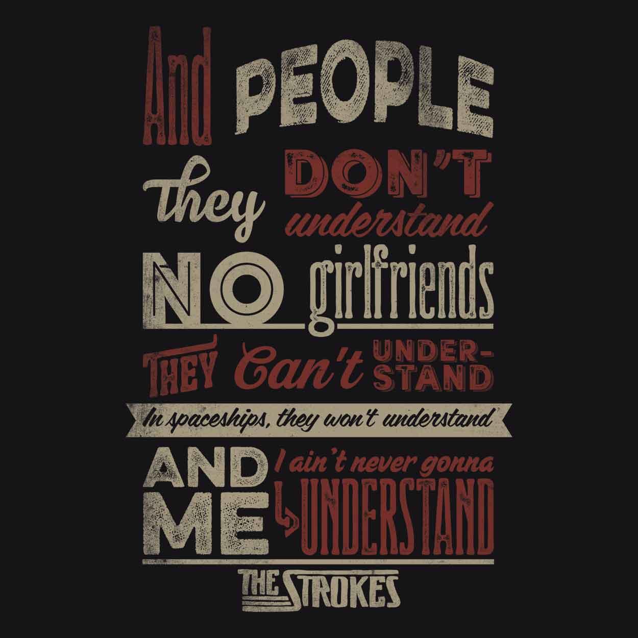 Camiseta Last Nite - The Strokes - Masculino